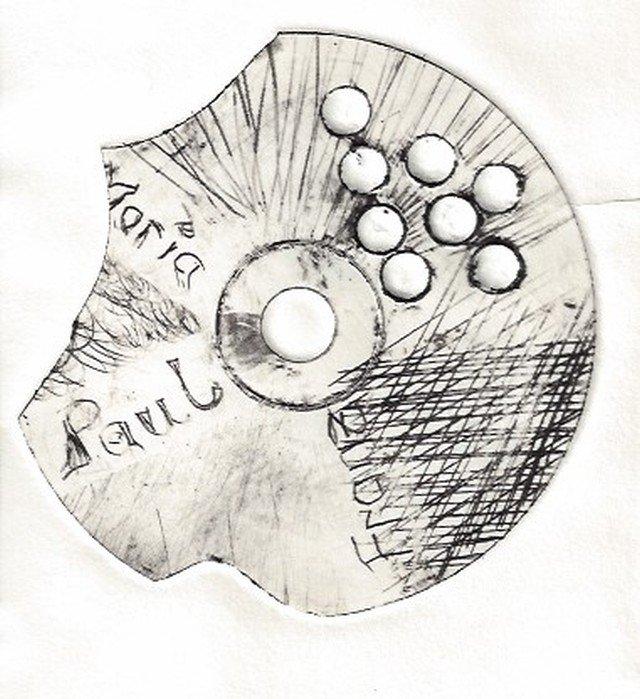 Wolfgang Autenrieth: CD-Radierung, 2011